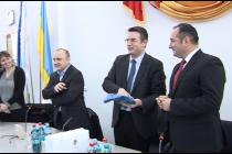 Delegație franceză la Târgu Neamț