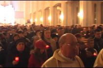 Catolicii au sărbătorit Învierea