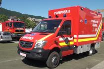 Ambulanţă nouă la SMURD