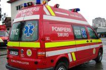 Femeie căzută pe jos într-un apartament din Piatra Neamț, salvată de pompieri