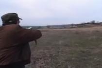 Împușcat la marginea pădurii