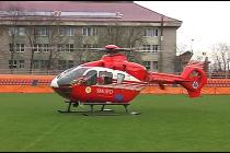 Salvat cu elicopterul