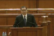 Victor Ponta salvat de colegi