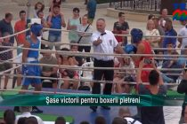 Şase victorii pentru boxeri pietreni