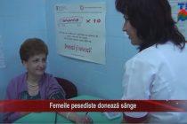 Femeile pesediste donează sânge