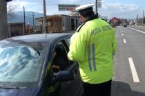 Tineri depistați în trafic fără permis de conducere și sub influența alcoolului