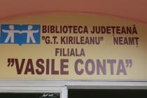 """Biblioteca """"Vasile Conta"""" şi-a redeschis porţile"""
