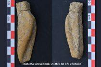 Statuetă de 23.000 de ani