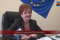 Emilia Arcan, vicepreședinte PSD la nivel național