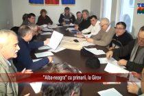 """Alba-neagra"" cu primarii, la Girov"