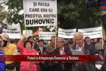 Protest la Arhiepiscopia Romanului și Bacăului