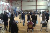76 persoane angajate pe loc şi 325 selectate în vederea încadrării, la Bursa generală a locurilor de muncă