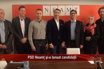 PSD Neamt şi-a lansat candidaţii