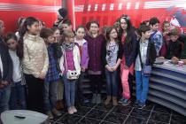 Tele M Neamț și viitorii jurnaliști