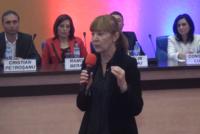 """Monica Macovei: """"cel mai mare pericol, partidele parlamentare"""""""