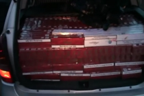6.380 de ţigarete de contrabandă descoperite la un cetăţean din Bârgăoani