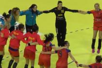 Naţionala de handbal feminin, la Piatra Neamţ