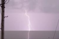 Surprinşi de furtună