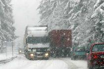 Zone din Neamţ afectate de ninsoare
