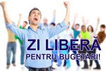 2 decembrie – liber pentru funcţionarii publici