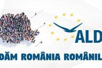 """ALDE: Campania """" Redăm România Românilor''"""