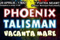 Evenimente de 1 mai în ştrandul din Piatra Neamţ
