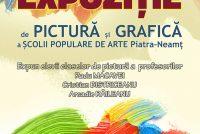 Expoziţie de sfârşit de an şcolar a claselor de arte plastice