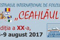 """Festivalul internaţional de folclor """"Ceahlăul"""", ediţia a XX-a"""