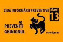 Marți 13, ziua informării preventive