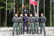 Jandarm din Neamţ instruit de experţi chinezi