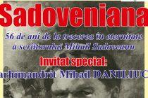 Sadoveniana: 56 de ani de la trecerea în nefiinţă a scriitorului Mihail Sadoveanu