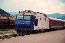 Tentativă de sinucidere în faţa trenului