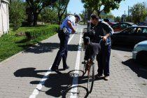 Bicicliştii şi pietonii în atenţia poliţiştilor rutieri nemţeni