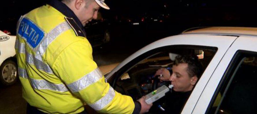 24 de amenzi și 9 permise de conducere suspendate din cauza consumului de alcool