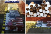 Contrabandă cu ţigări în comuna Sagna