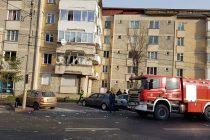 Explozie la un bloc din municipiul Piatra Neamţ