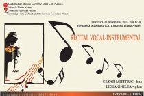 Recital vocal-instrumental la Piatra Neamţ