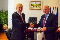 Ambasadorul Republicii Belarus, în vizită la Piatra Neamţ
