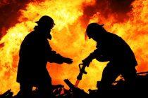 Un bărbat din Dochia și-a dat foc la propria locuință