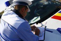 Prins de poliţişti cu permisul suspendat