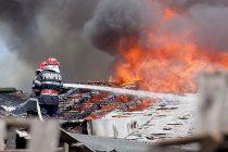Incendiu la o locuință în comuna Grințieș