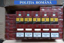 Ţigări de contrabandă descoperite într-o piaţă din Piatra Neamţ