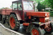 A accidentat cu tractorul un cetăţean si a fugit
