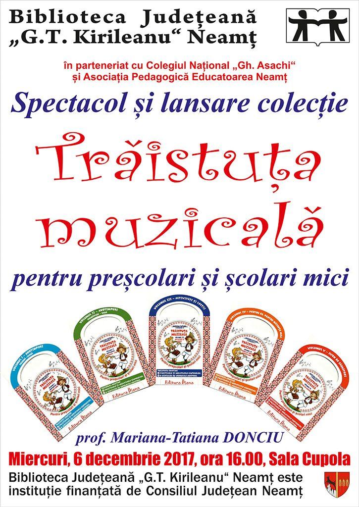 Afis Lansare CD Donciu