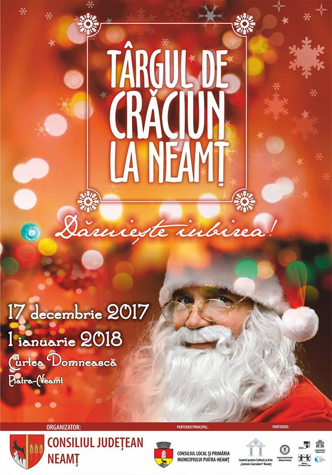 Targul de Craciun la Neamt 2017