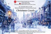 """Concert """"Christmas Carols"""", susţinut de soprana Gabriela Pepelea la Biblioteca Judeţeană"""