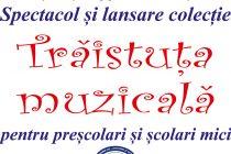 """""""Trăistuța muzicală"""", lansată la Biblioteca Județeană"""