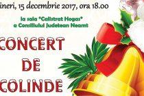 """Concert de colinde """"Nașterea Domnului – bucuria noastră"""""""