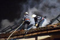 Incendiu la o locuință din comuna Tașca