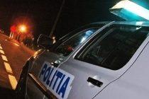 Conducător auto oprit cu focuri de armă
